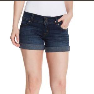 NEW Hudson Ruby Mid Thigh Denim Short 25